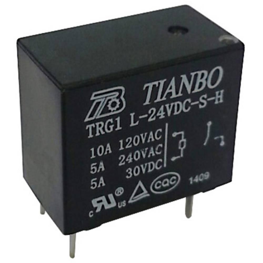 Rele za tiskana vezja 12 V/DC 3 A 1 zapiralni Tianbo Electronics TRG1 L-S-H 12VDC 1 kos