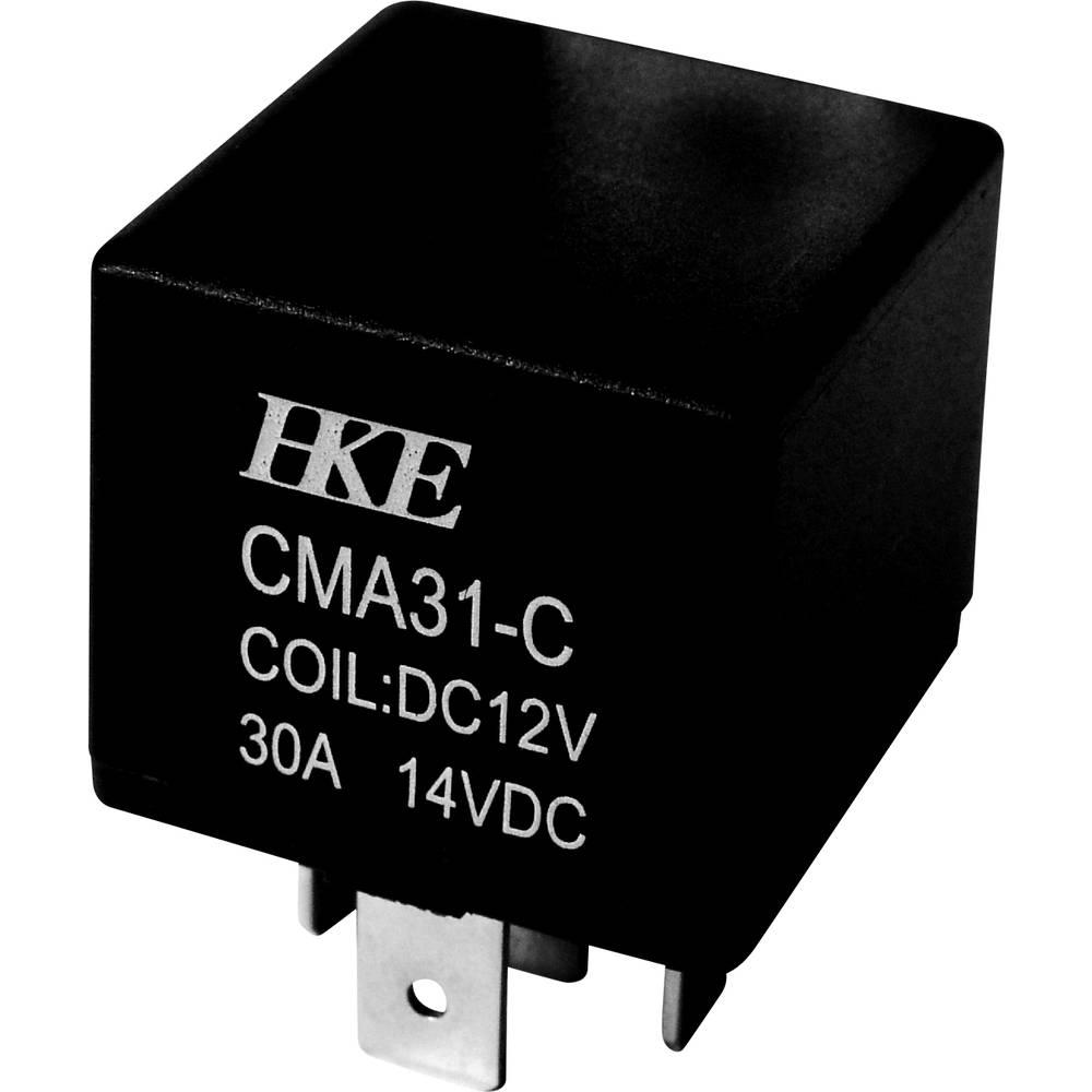 Kfz-Relais (value.1292934) 12 V/DC 30 A 1 Wechsler (value.1345271) HKE CMA31-DC12V-C-NS