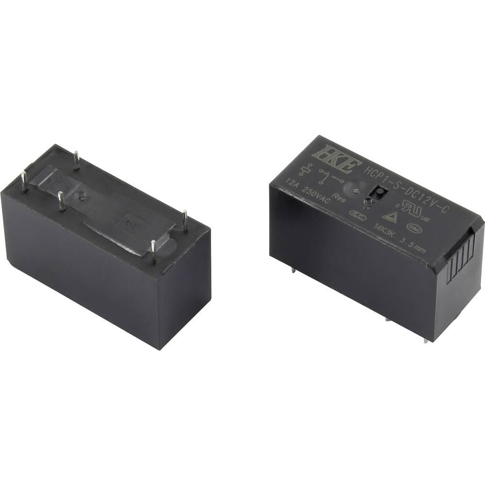 Rele za tiskana vezja 12 V/DC 12 A 1 preklopni HKE HCP1-S-DC12V-C 1 kos