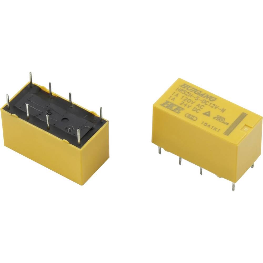 Rele za tiskana vezja 24 V/DC 2 A 2 preklopni HKE HRS2H-S-DC24V-N 1 kos