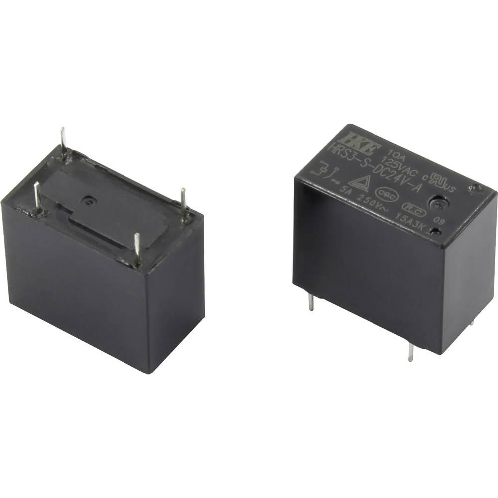 Rele za tiskana vezja 12 V/DC 10 A 1 zapiralni HKE HRS3-S-DC12V-A 1 kos