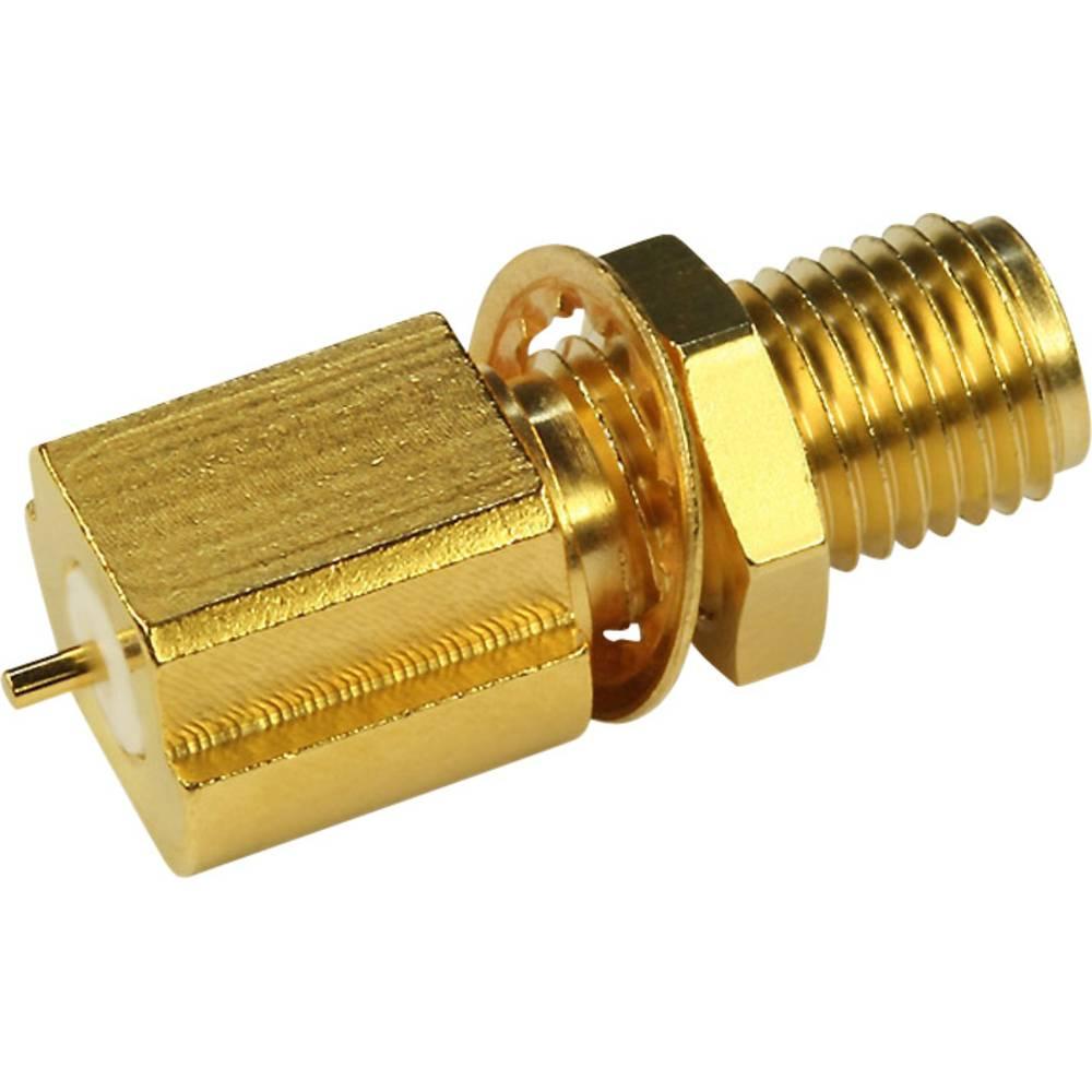 SMA-stikforbindelse Telegärtner J01151A0451 50 Ohm Flangetilslutning 1 stk