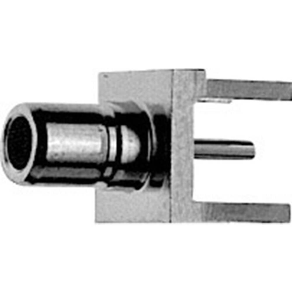 SMB-stikforbindelse Telegärtner J01160A0311 50 Ohm Stik, indbygning lodret 1 stk