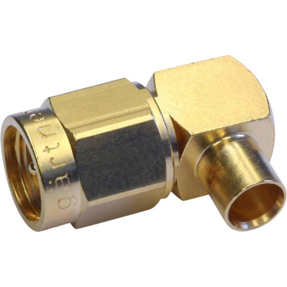 SMA-stikforbindelse Telegärtner J01150A0151 50 Ohm Stik, vinklet 1 stk