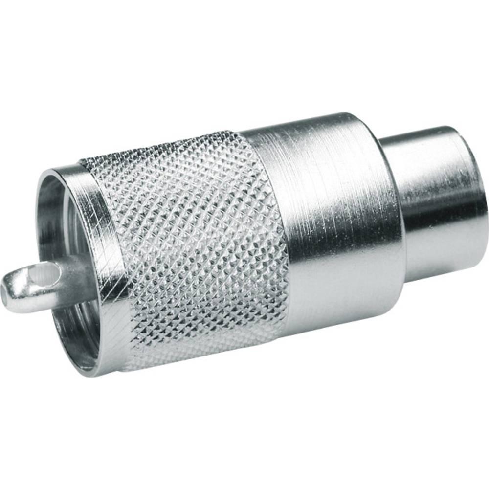 UHF-stikforbindelse Telegärtner J01040A0602 50 Ohm Stik, lige 1 stk
