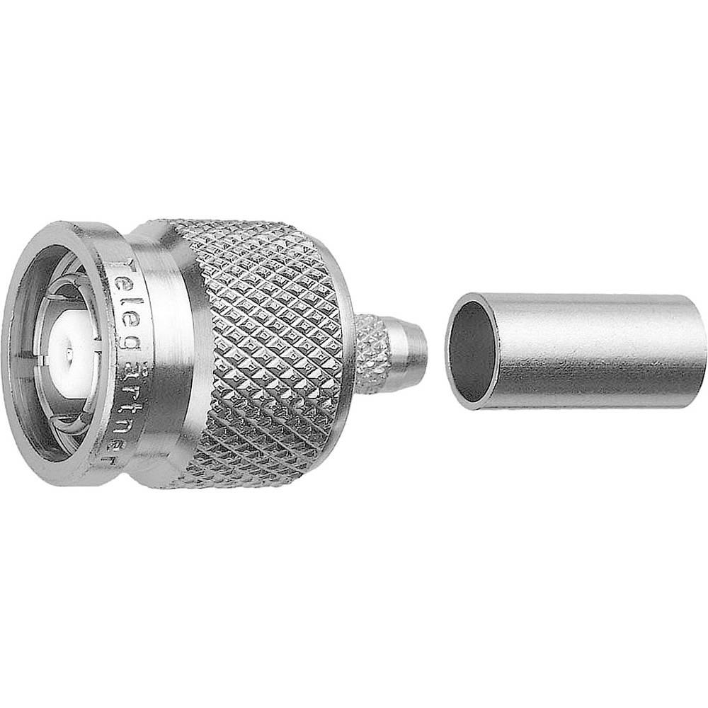 TNC-reverse-stikforbindelse Telegärtner J01010R0005 50 Ohm Stik, lige 1 stk