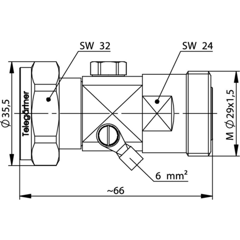 Overspændingsafleder Telegärtner J01125A0045 1 stk
