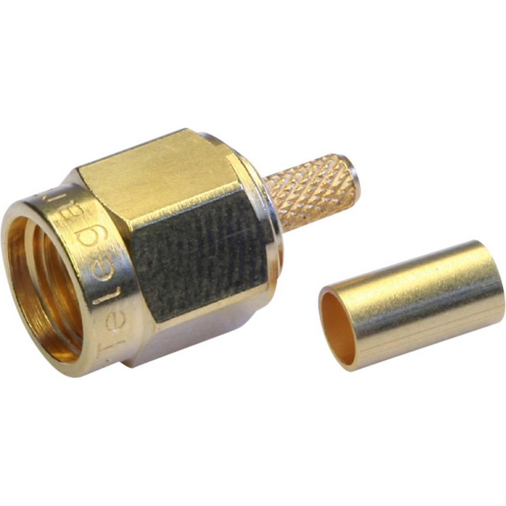 SMA-stikforbindelse Telegärtner J01150A0021 50 Ohm Stik, lige 1 stk