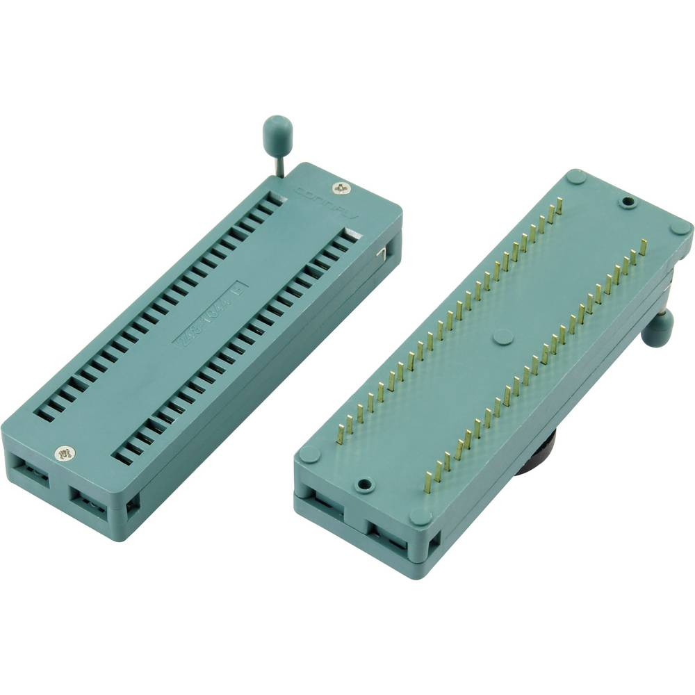 IC-testsokkel Rastermål: 7.62 mm Poltal: 14 1 stk
