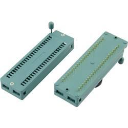 IC testno podnožje 15.24 mm št. polov: 32, 1 kos