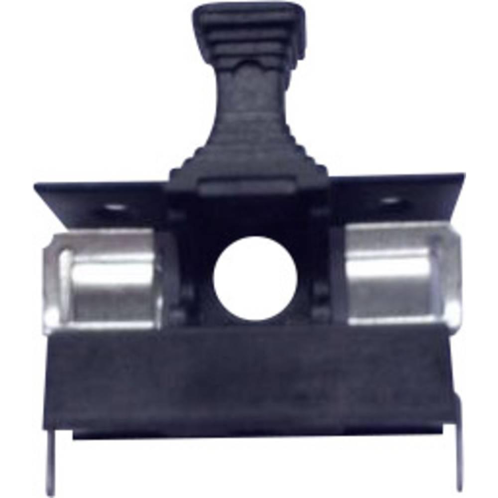 Držalo za varovalke z lažjim izvlačenjem, izdelek primeren za mini varovalko 5 x 20 mm 6.3 A 250 V ESKA 508.000 1 kos