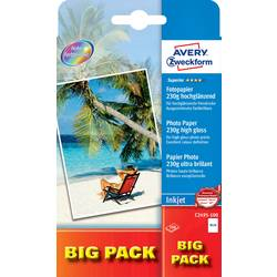 Fotografski papir Avery-Zweckform Superior Photo Paper Inkjet C2495-100 10 x 15 cm 230 g/m 100 listov visoko-sijajni