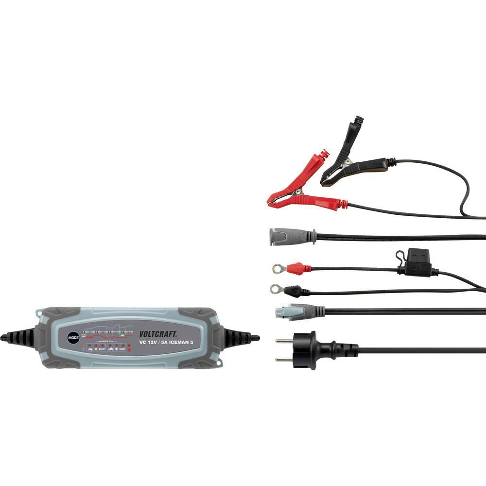 Automatisk oplader VOLTCRAFT VC 12V / 5A ICEMAN 5 12 V 0.8 A, 5 A