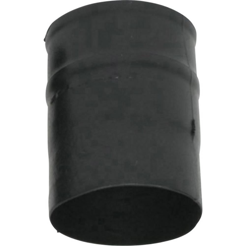 Skrčljiv žleb raven pred/po krčenju: 30 mm/14.2 mm 1 kos črna
