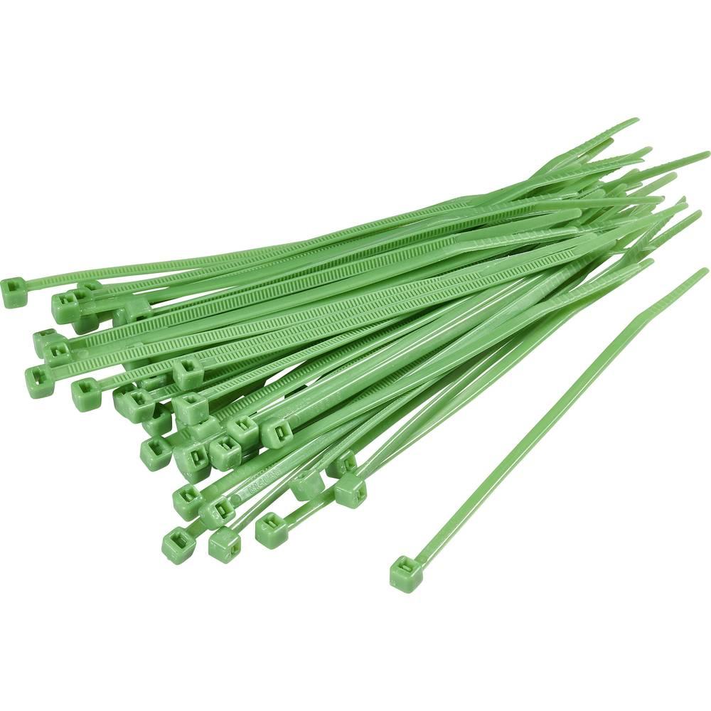 Kabelske vezice 100 mm zelene barve KSS CV100 100 kos