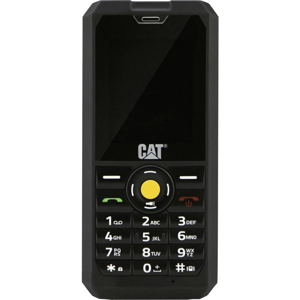 CAT B30 Zunanji mobilni telefon Črna