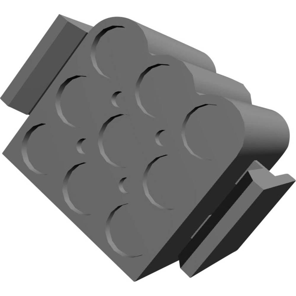 Tilslutningskabinet-kabel .140 MATE-N-LOK Samlet antal poler 9 TE Connectivity 1-480585-0 1 stk