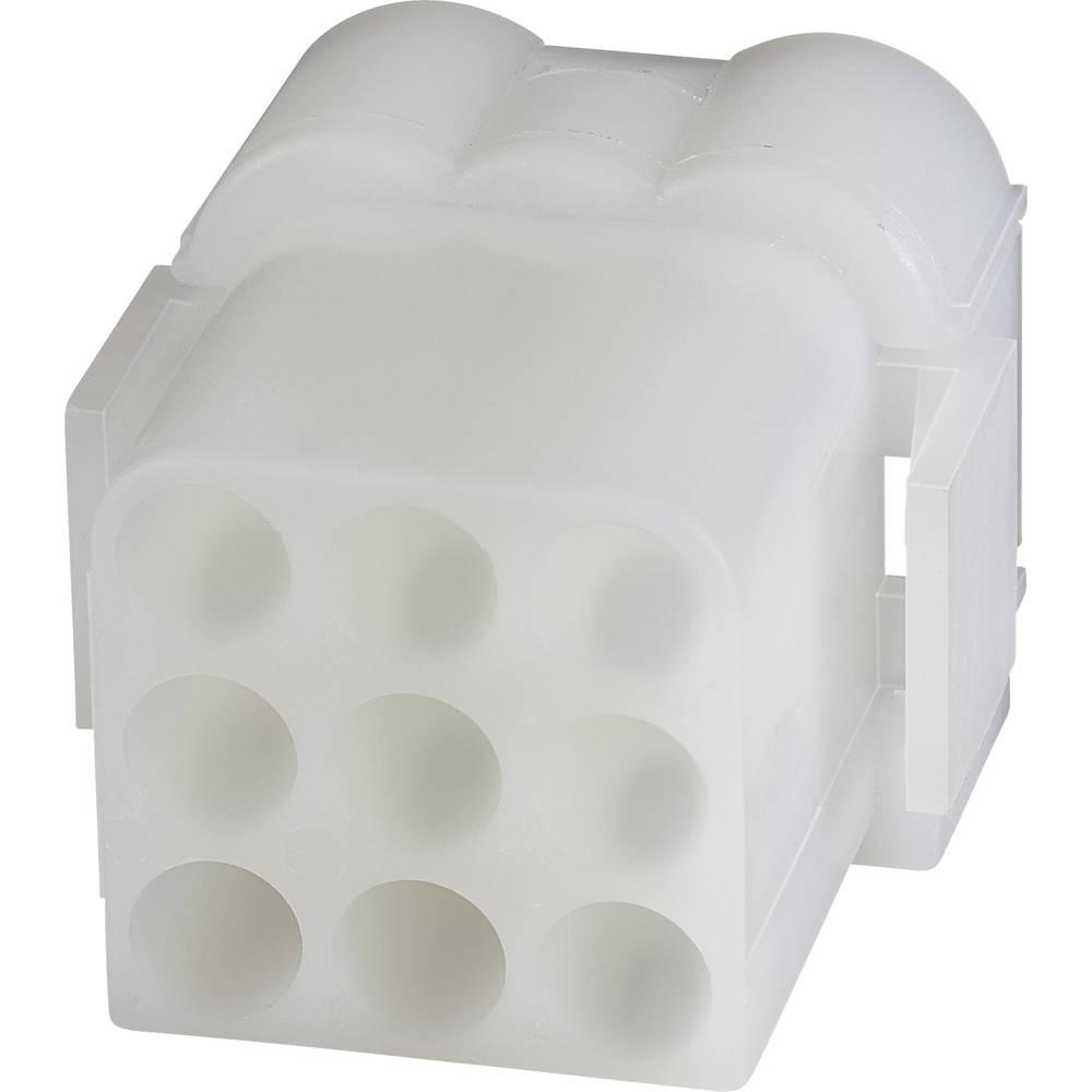 Tilslutningskabinet-kabel .140 MATE-N-LOK (value.1360511) Samlet antal poler 9 TE Connectivity 1-480673-0 1 stk