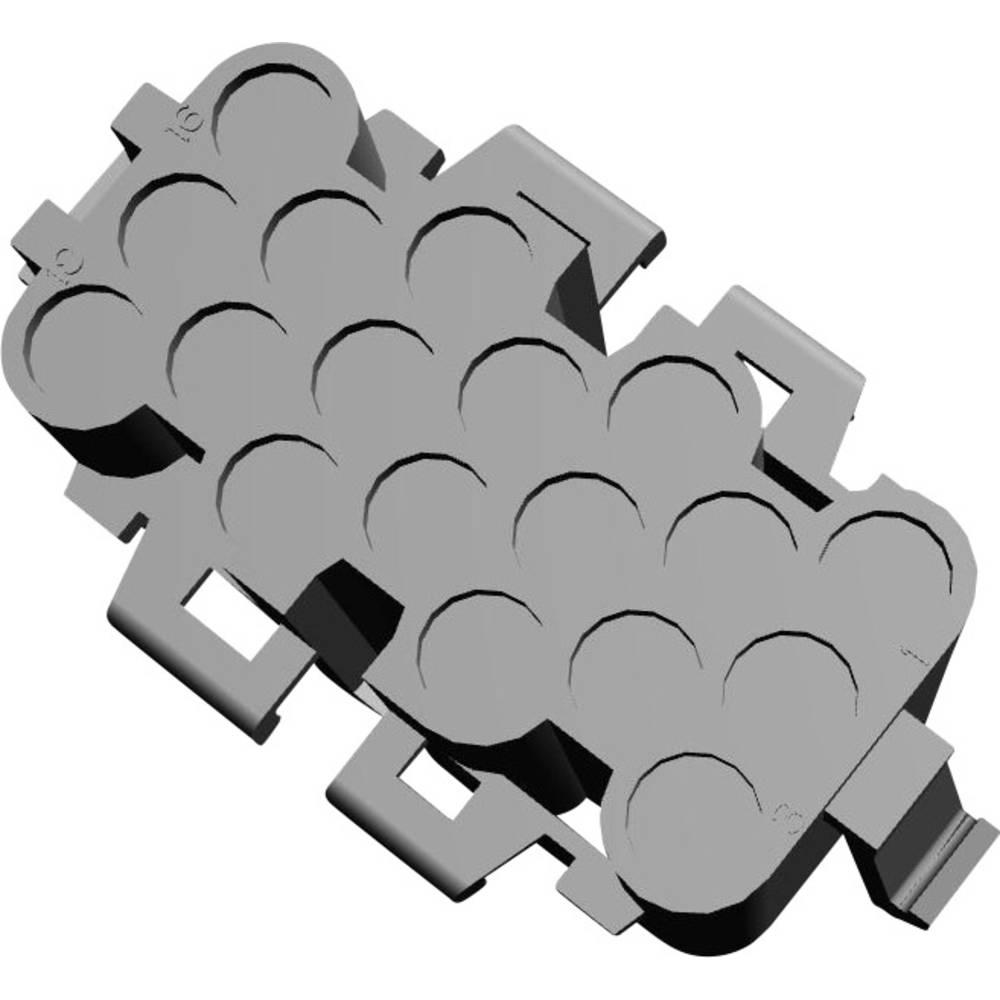 Tilslutningskabinet-kabel .140 MATE-N-LOK Samlet antal poler 18 TE Connectivity 925451-1 1 stk