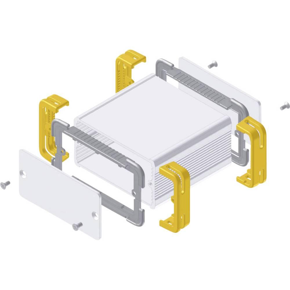Profil-kabinet 114 x 63.6 x 33 Aluminium Natur, Gul Fischer Elektronik FR 55 25 100 ME 1 stk