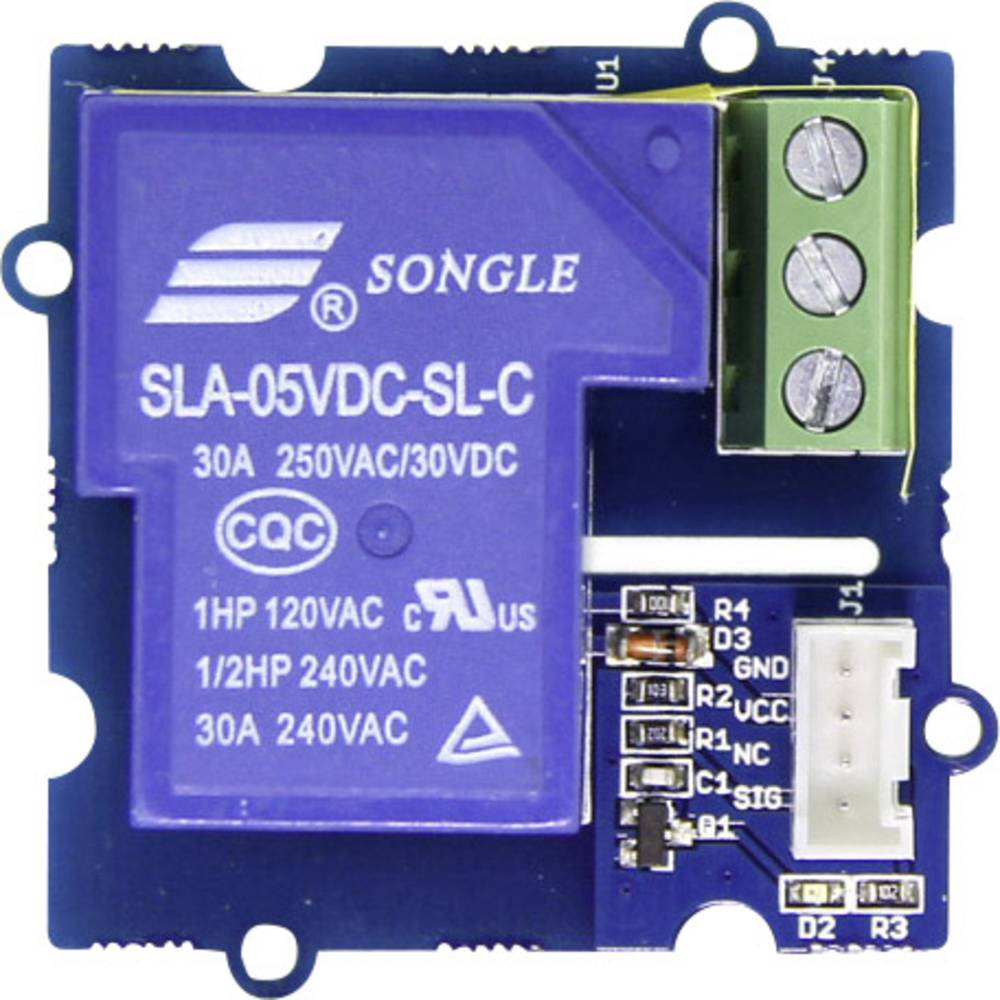 Relä modul Seeed Studio ACT05161P 30A C-Control Duino, Grove