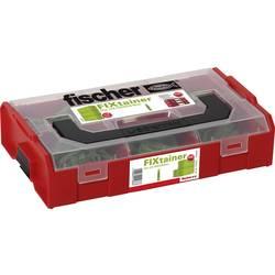 Fischer 532894 FIXtainer - Die UX-zelena škatla- 210-delna