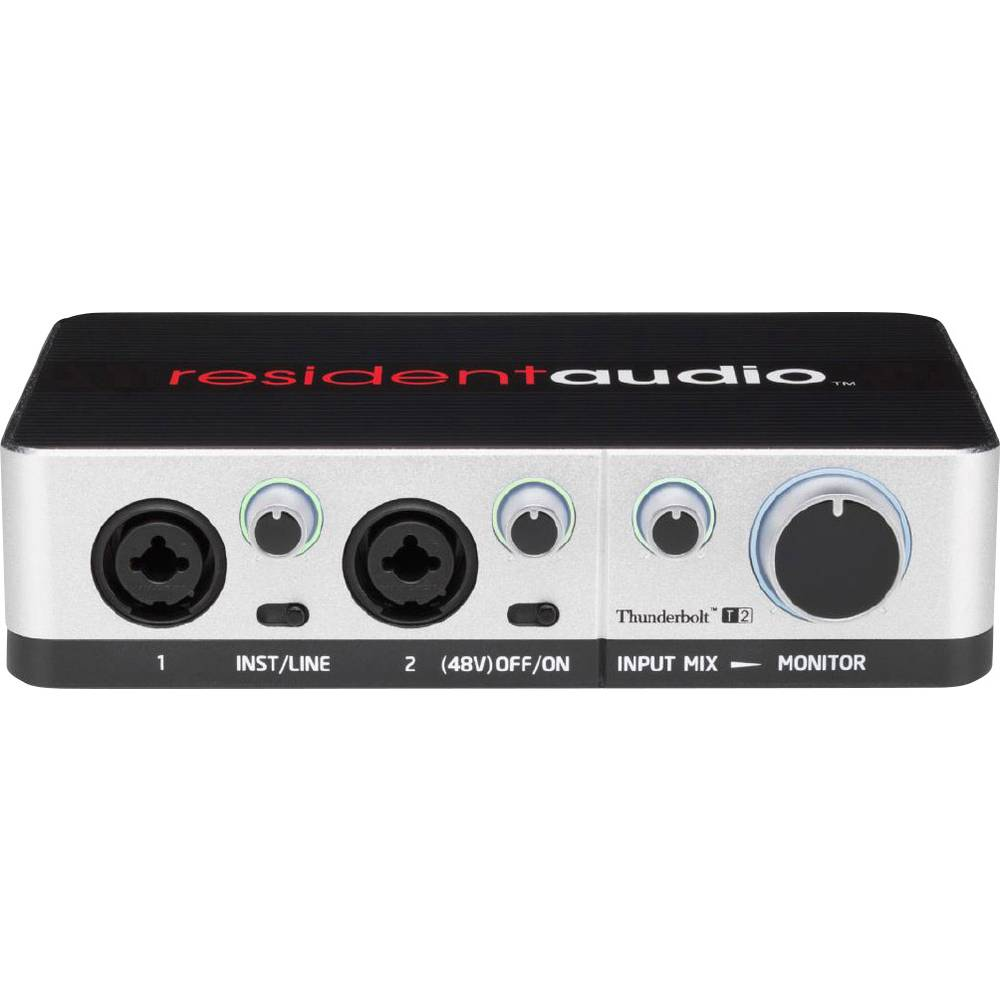 Avdio vmesnik Resident Audio T2 Thunderbolt