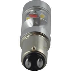 LED žarulja BA15d DioDor oblik klipa 3.5 W = 40 W hladno-bijelo svjetlo (promjer x D) 18 mm x 55 mm KEU: A+ prigušivanje, 1 kom.