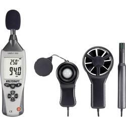 Temperatur-måleudstyr VOLTCRAFT UM5/1 100 -40 til +70 °C Sensortype K Multifunktions-måleapparat 5in1 Kalibrering efter: Werksst