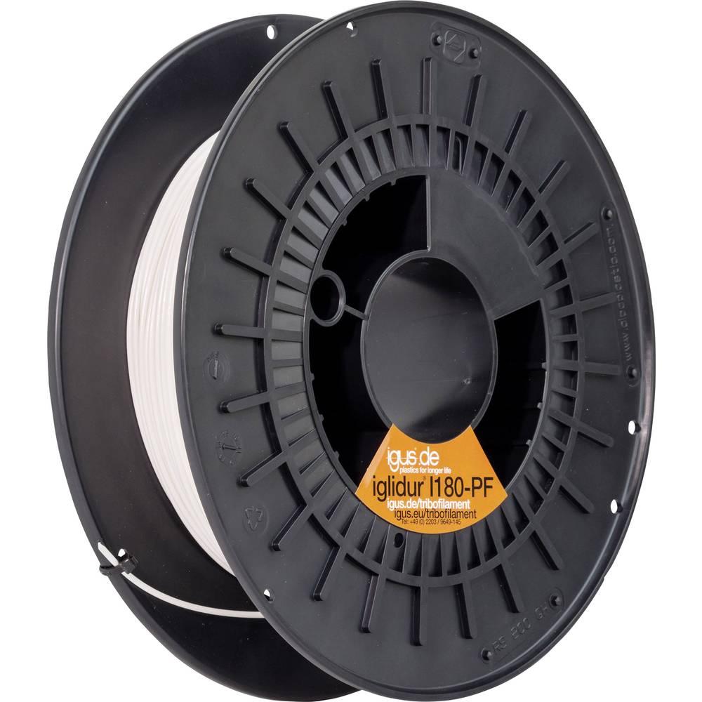 Filament igus I180-PF-0300-0250 iglidur® I180 Tribo plastika 3 mm bijeli
