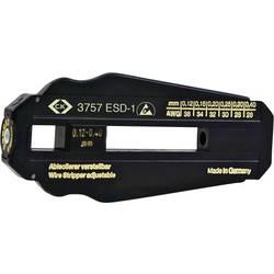 ESD alat za skidanje izolacije C.K. podesivo 6 različitih promjera žice od 0,12 - 0,40 mm (36 - 26 AWG) PVC kabel, PTFE kabel T3
