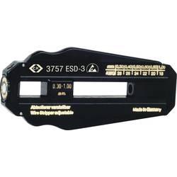 ESD alat za skidanje izolacije C.K. podesivo 6 različitih promjera žice od 0,30 - 1 mm (AWG 28 - 18) PVC kabel/PTFE kabel T3757E