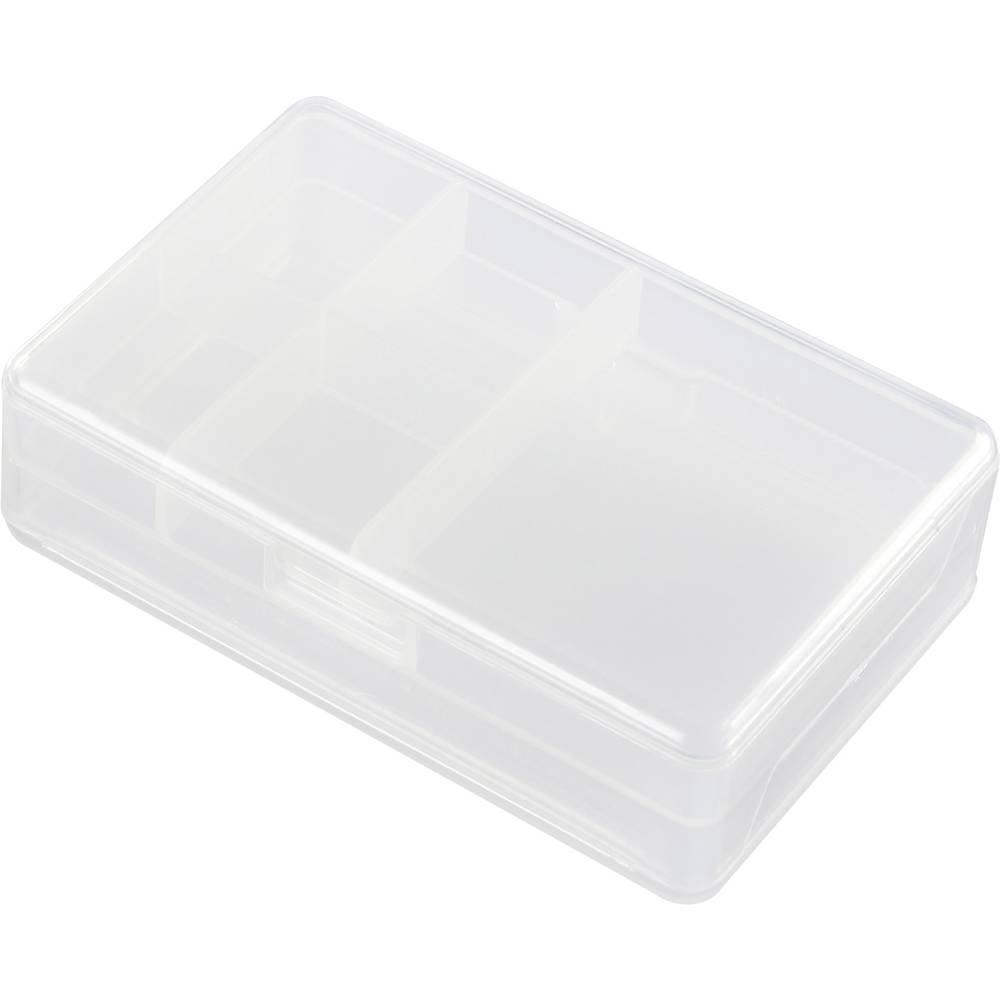 Sortirna škatla (D x Š x V) 103 x 68.3 x 30.5 mm št. predalov: 6 fiksna pregraditev, doppelseitig