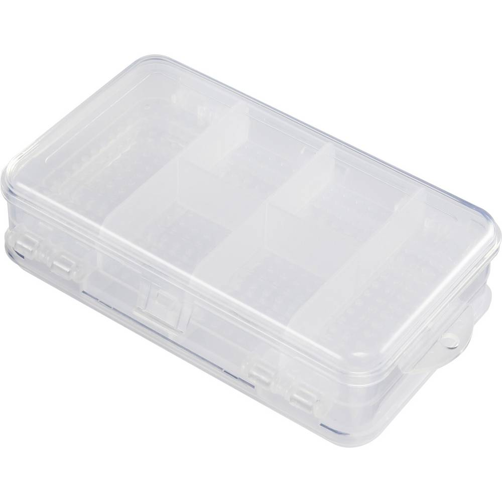 Sortirna škatla (D x Š x V) 145.2 x 97 x 42.5 mm št. predalov: 10 fiksna pregraditev, doppelseitig