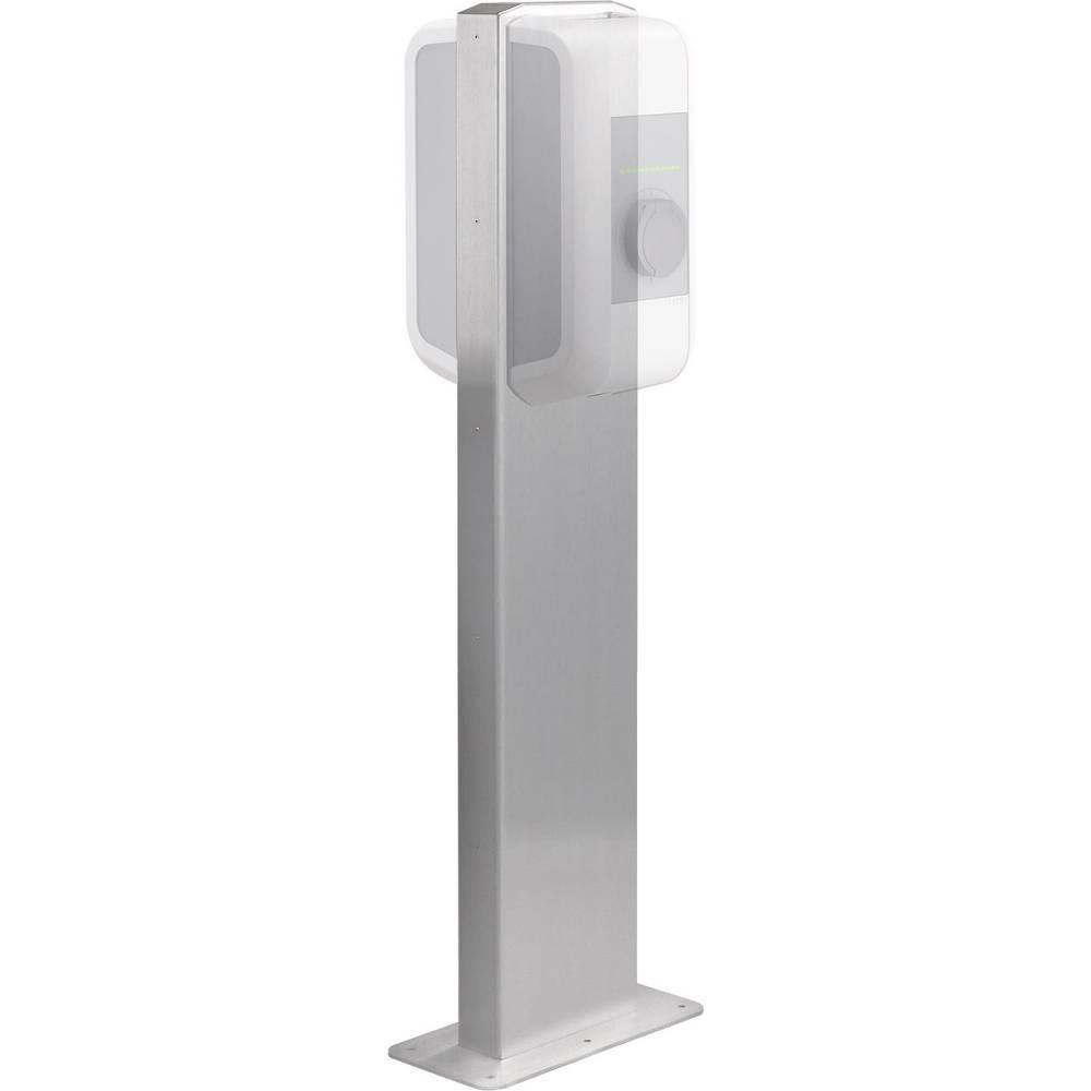 KEBA stojalo za 2 polnilni postaji za domačo uporabo KeContact P20 izvedba: za dva Wallboxa, srebrne barve