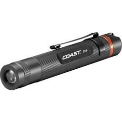 LED žepna svetilka Coast G19 baterijsko napajanje 57 g črna