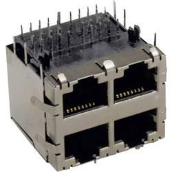 Modularna ugradbena utičnica utičnica, vertikalna ugradnja, srebrne boje TRU Components 1582447 1 kom.