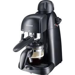 aparat za esspreso kavu s držačem filtera Severin KA 5978 crna 800 W s mlaznicom za pjenjenje mlijeka