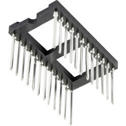 IC-fatning Rastermål: 15.24 mm Poltal: 24 1 stk