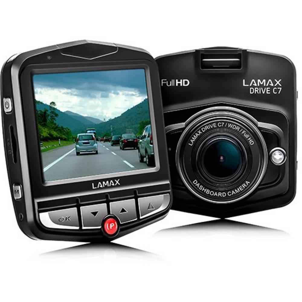 Avto kamera Lamax Drive C7 vodoravni kot gledanja=150 ° 12 V