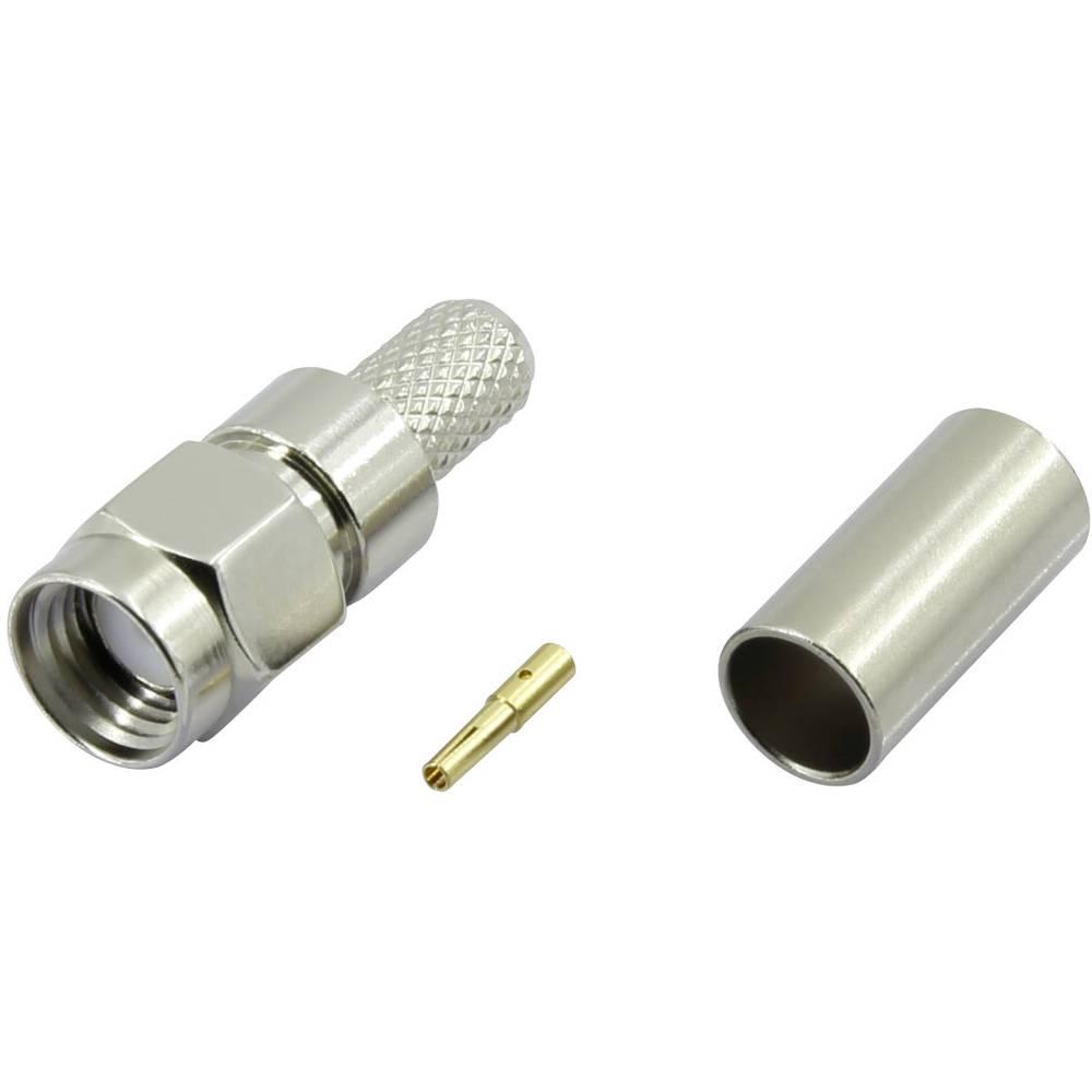 SMA-reverse-stikforbindelse Conrad Components SMA-JC-RG58-1 50 Ohm Stik, lige 1 stk