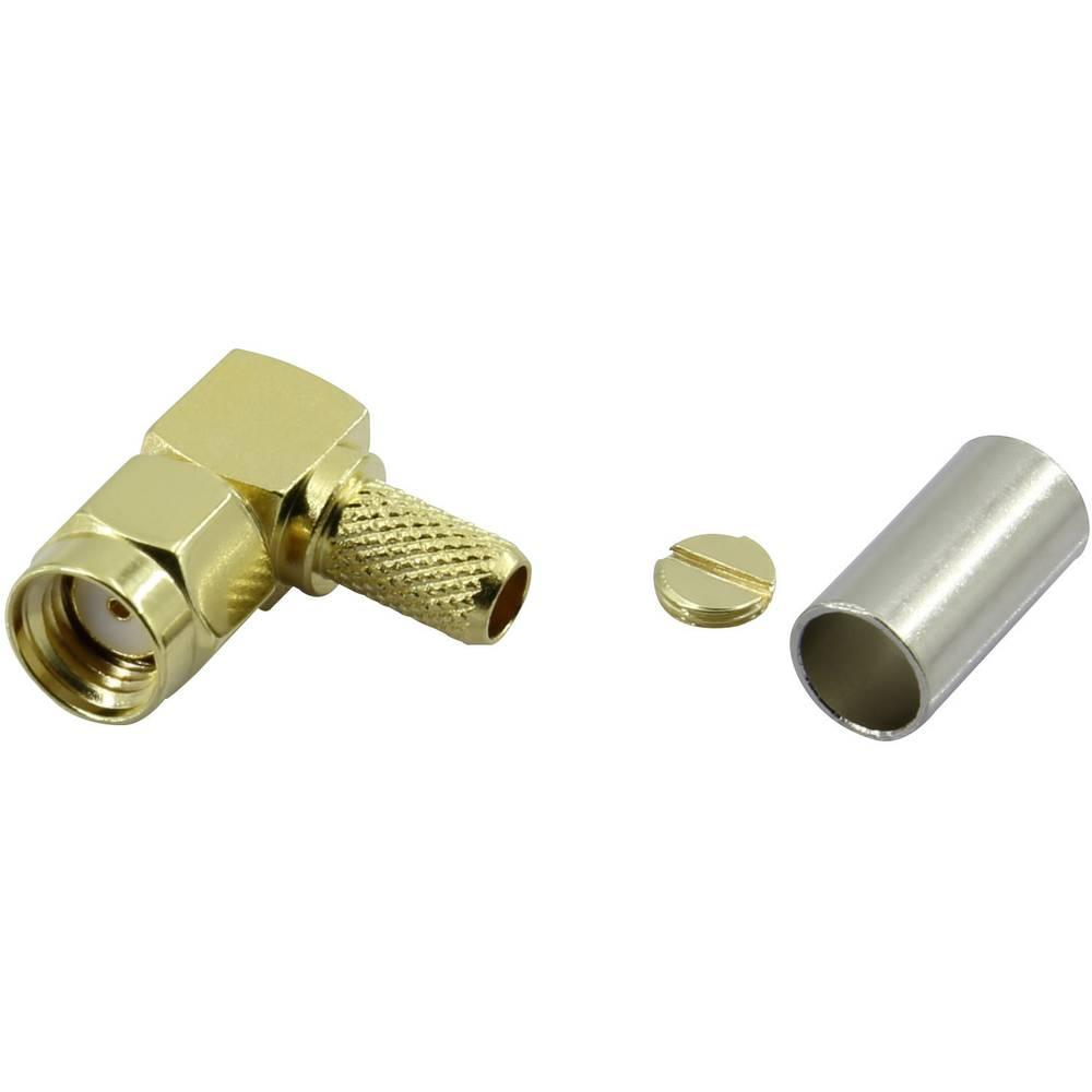 SMA-reverse-stikforbindelse Conrad Components SMA-JWC-RG58 50 Ohm Stik, vinklet 1 stk