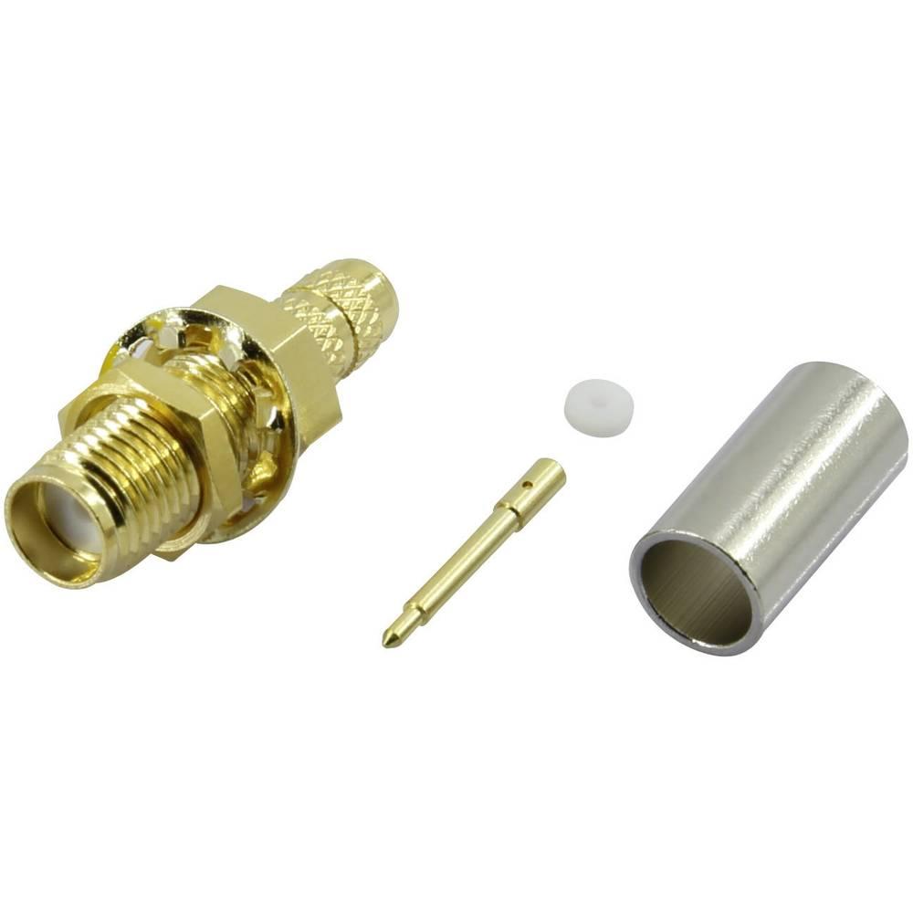 SMA-reverse-stikforbindelse Conrad Components SMA-KC-RG58-2 50 Ohm Stik, lige 1 stk