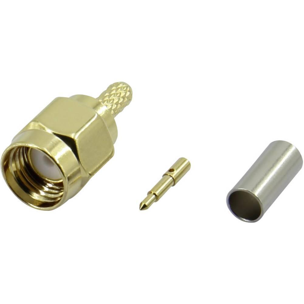 SMA-stikforbindelse Conrad Components SMA-JC-RG174-2 50 Ohm Stik, lige 1 stk
