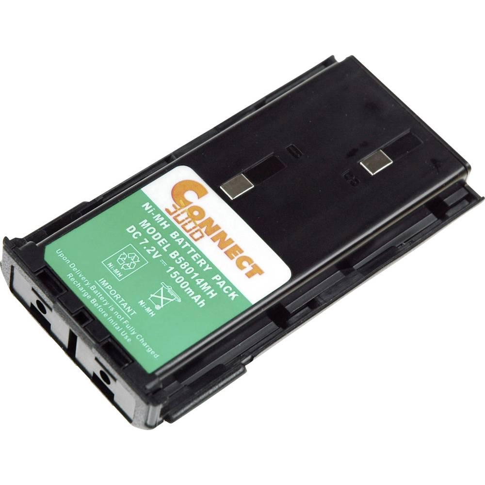 Akumulator za brezžične naprave Connect 3000 nadomešča originalni-akumulator KNB-14, KNB-14A, KNB-15 7.2 V 2100 mAh
