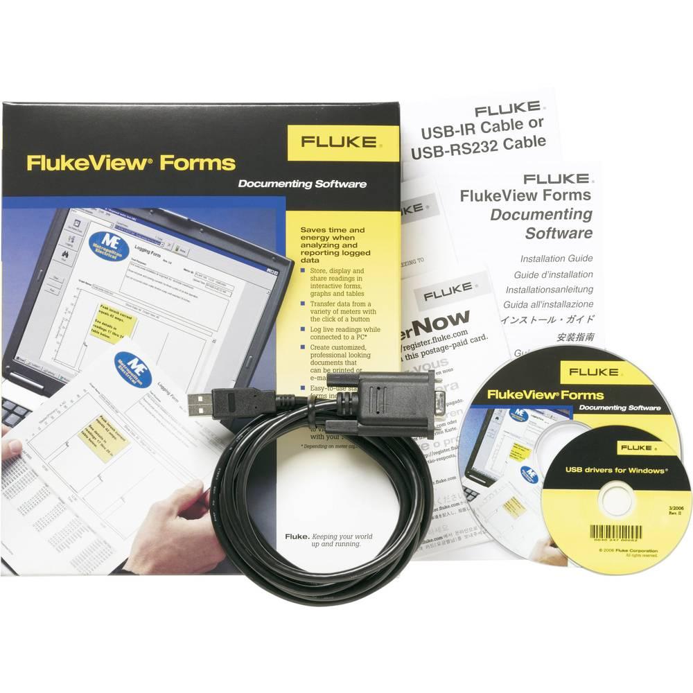 Fluke FVF-SC4 Extended Fluke View Forms softver za Fluke 8845A, Fluke 8846A, Fluke 8808A, Fluke 45