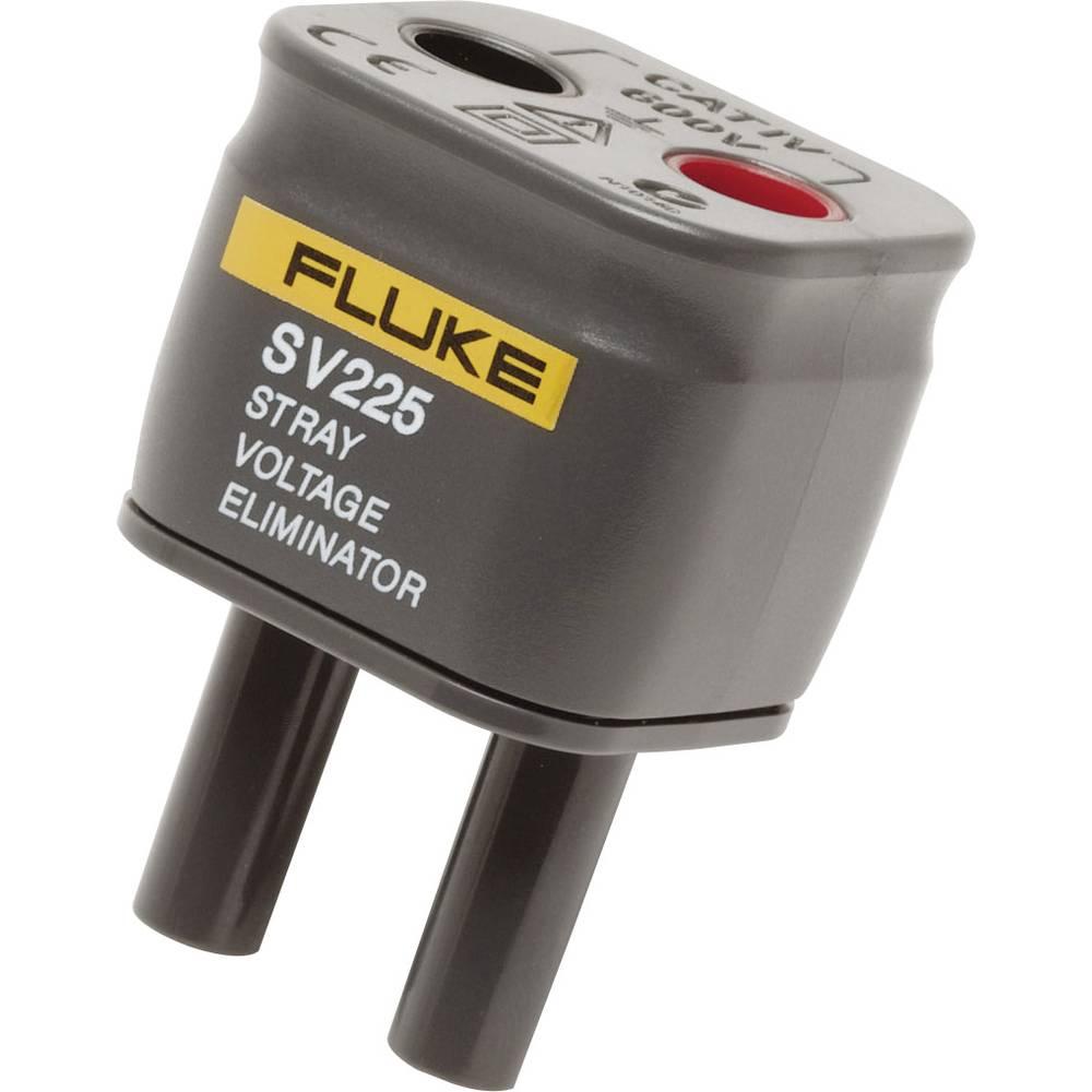 Mjerni adapter [ ženski utikač 4 mm - lamelni utikač 4 mm] siguran za dodir Fluke SV225