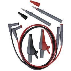 Varnostni merilni kabel-set [ testna konica, krokodil sponka, 4 mm-vtič - 4 mm-vtič] črne, rdeče barve Beha Amprobe EU-200