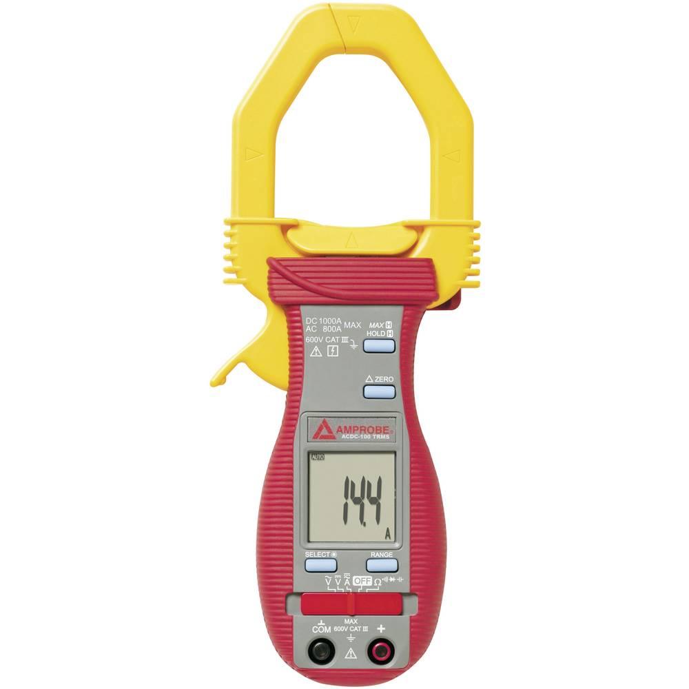 ručni multimetar, strujne stezaljke digitalni Beha Amprobe ACDC-100-D CAT II 600 V Zaslon (brojevi): 4000