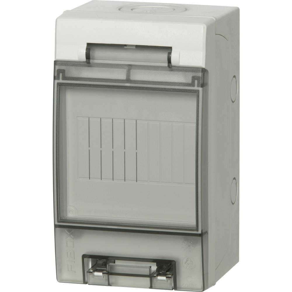 Zidno kućište, kućište za instalacije 7255161 Fibox polikarbonat svijetlosiva (RAL 7035) 200 x 116 x 105 1 kom.